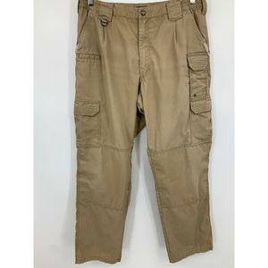 511 Tactical mens 34/32 pants khaki work uniforms